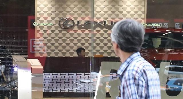 韩3月进口车销量同比增12% 日系车锐减近七成