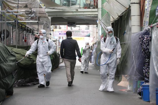 韩国境外输入病例接近半数