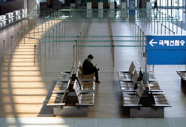 韩中建交来首现单日无中国旅客出入境