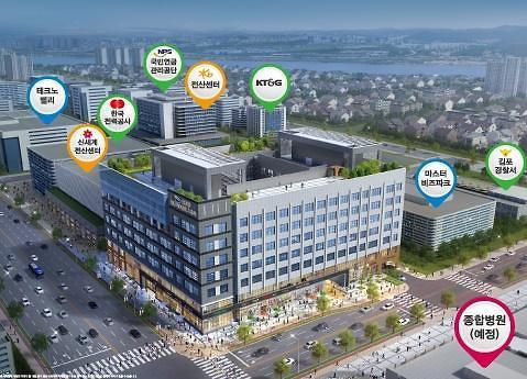 스마트지식산업센터 김포 금광하이테크시티 그랜드 오픈