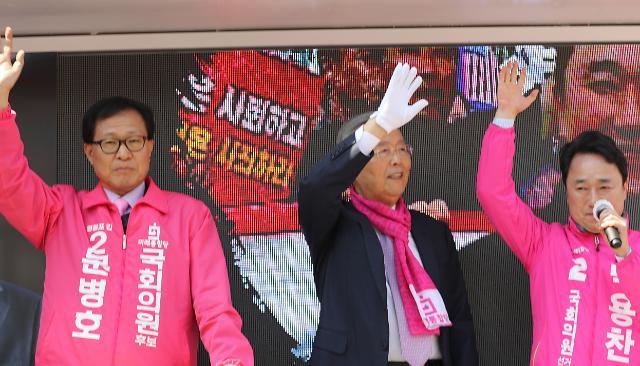 """[총선 D-9] 김종인 """"4년 동안 與의원들...청와대 거수기 역할밖에"""""""