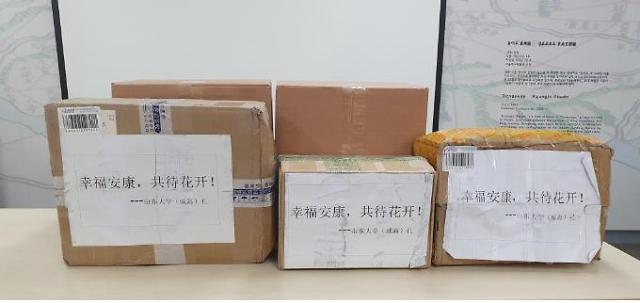 两年前被韩国医院抢救化险为夷 山东大学教授向首尔市捐赠口罩