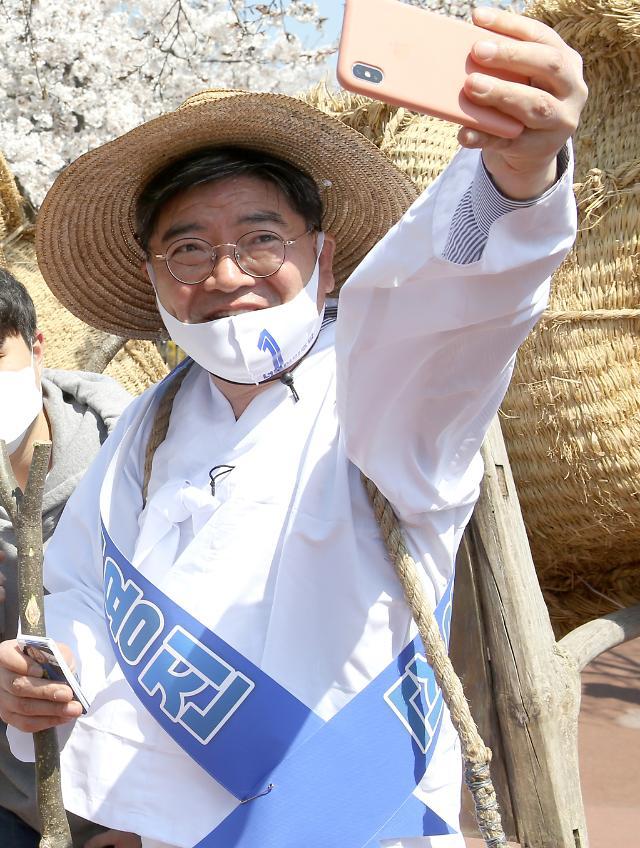 """[총선 이 사람] 김용진 이천 후보 """"이천을 마법의 도시로""""…노동계 전폭 지지"""