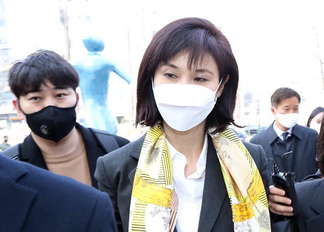 [포토] 이혼소송 법정 향하는 노소영 아트센터 나비 관장