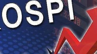 KOSPI tăng 1,77% kết thúc ở 1823,59 điểm