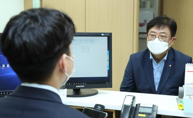 """박재식 저축은행중앙회장 """"코로나19로 어려운 고객에 적극 지원"""""""