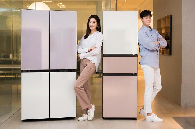 삼성전자, 2020년형 비스포크 냉장고 사전판매···10가지 색상 추가