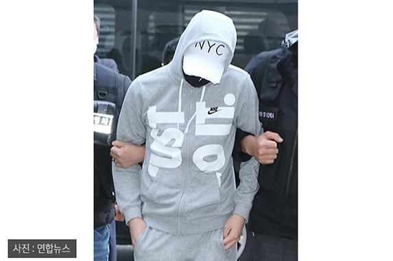 '주머니에 손 넣고' 인천 여중생 집단 성폭행 가해 학생 법원 출석