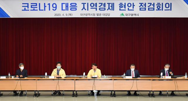 대구시, 코로나19 대응 지역경제 현안점검 회의 개최