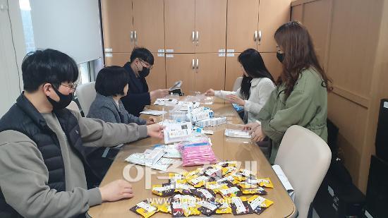 안양시청소년재단, 위기청소년 코로나19 극복 격려 키트 제작 배포