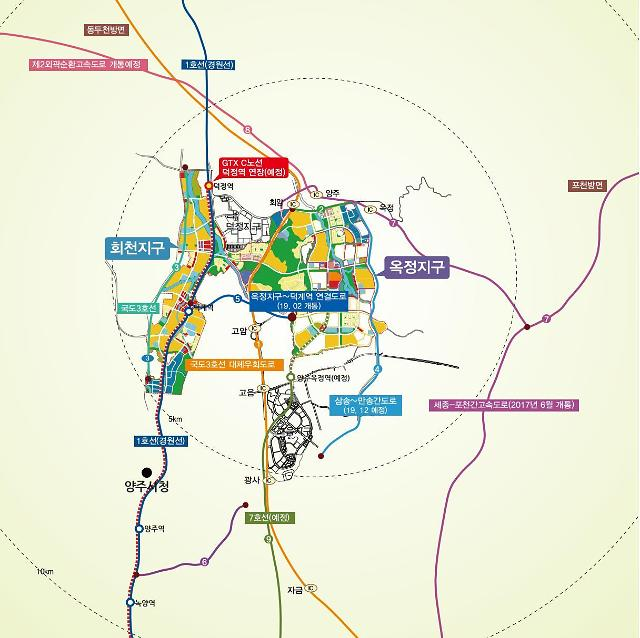 LH, 양주신도시 옥정지구 연립주택용지 3필지 5만㎡ 공급