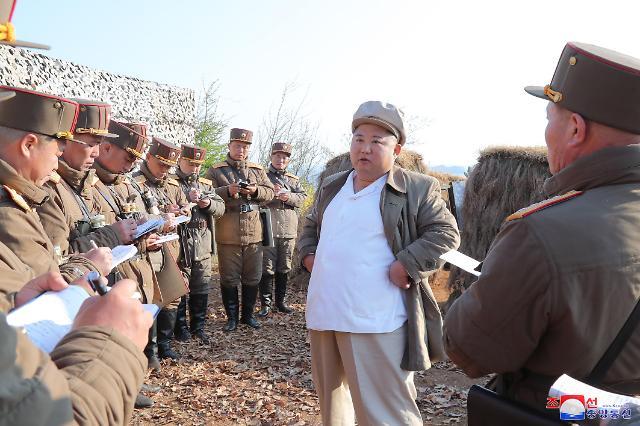 북한, 김일성 생일 태양절 앞두고 올해 5번째 발사체 발사