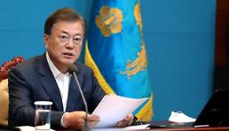 .President Moon given clear mandate through overwhelming election victory.
