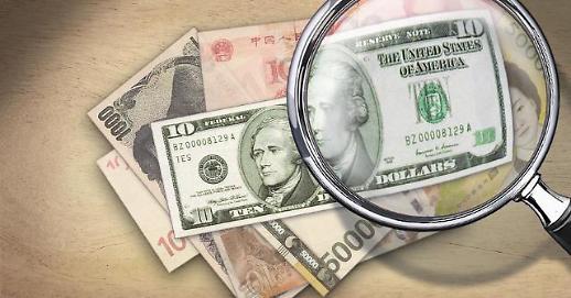 2019年韩企出口货款美元结算占比83.5%