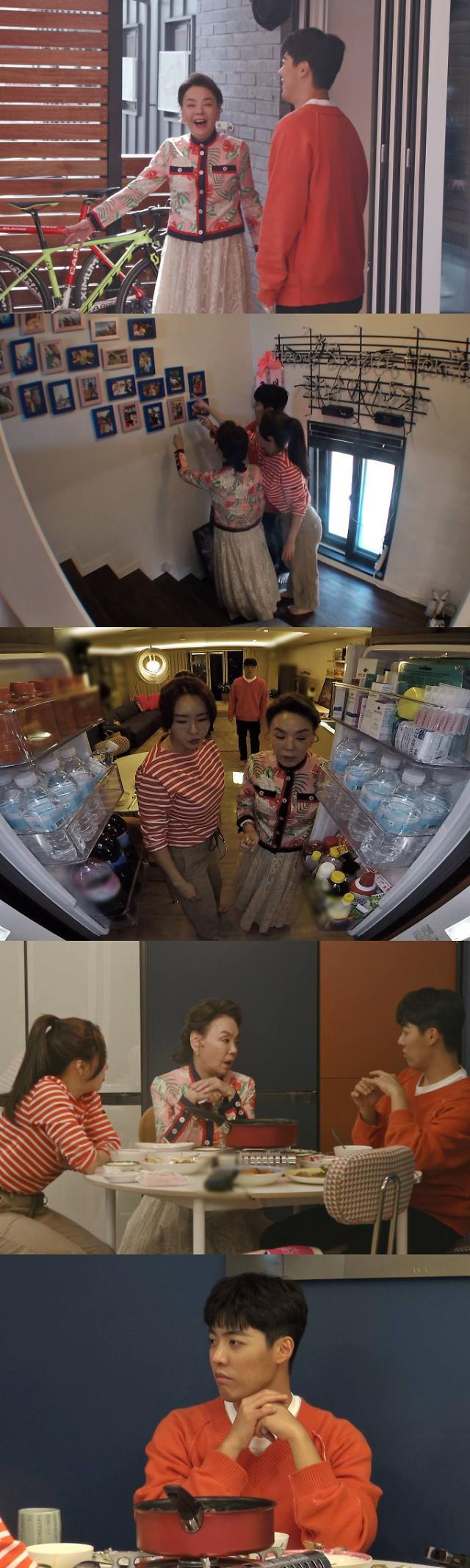 '동상이몽 시즌 2 - 너는 내 운명, 배우 김수미, 강남♥이상화 신혼집 방문