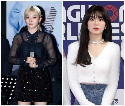 Red Velvet成员IRENE与SEULGI将组小分队开展活动