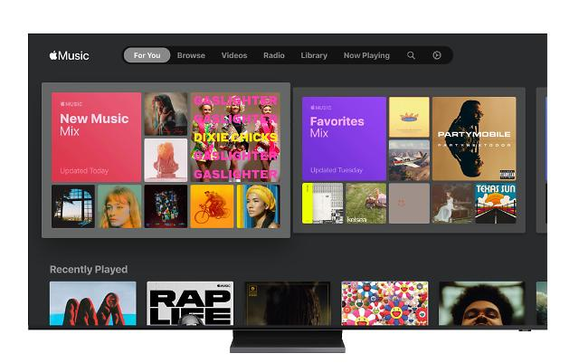 Samsung partners with Apple to provide subscription music service through smart TVs