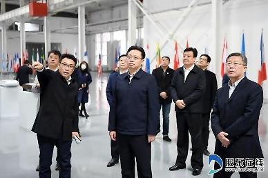 천페이 시장, 옌타이 고신구 산업단지 고찰 [중국 옌타이를 알다(456)]