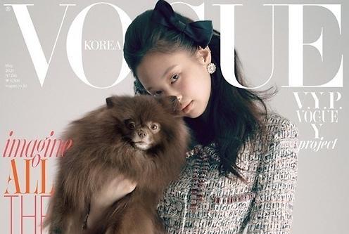 Jennie最新杂志写真公开