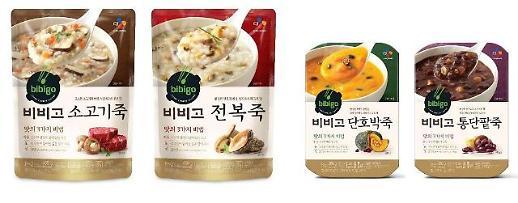 常温即食粥引领者CJ Bibigo粥累计销量破一千亿韩元