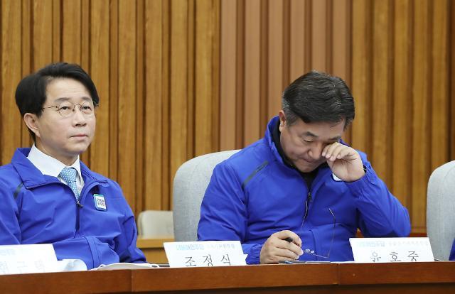 윤호중, 민주 원내대표 경선 불출마 선언
