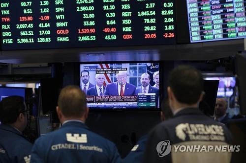 [뉴욕증시 마감] 경제 재개 기대에 다우 1.5%↑...국제유가는 25% 폭락