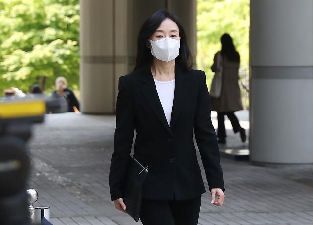 화이트리스트 작성 조윤선 파기환송심… 검찰, 징역 3년 구형