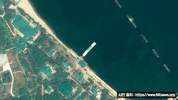 美国NK News:金正恩仍逗留在元山