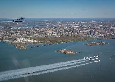 [광화문갤러리] 미 공군과 해군의 특별한 합동 공연