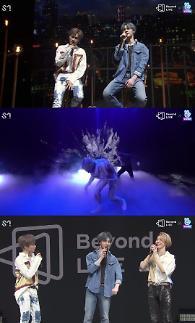 """威神V接棒Super M 出演""""Beyond Live""""在线演出"""