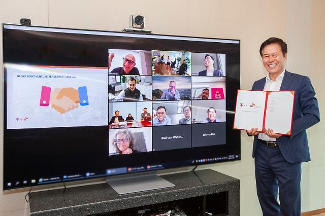 SK Telecom and Deutsche Telecom agree to develop non-face-to-face platforms