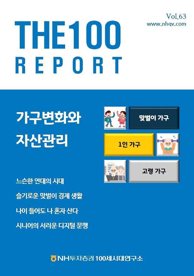 NH투자證, 가구변화와 자산관리 특집 'THE100리포트 63호' 발간
