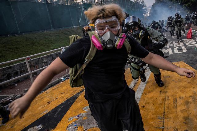 [광화문갤러리] 올해의 퓰리처상은 홍콩 시위 포착
