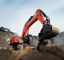 斗山インフラコア、中国で大型掘削機の注文殺到…20台相次いで受注