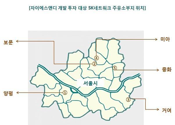 자이에스앤디, 서울 역세권 주유소 부지 5곳 매입해 임대주택 개발
