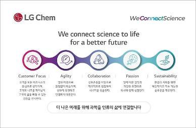 신학철 LG화학 부회장 14년 만에 뉴비전 발표…화학 뛰어넘는 혁신 이룰 것
