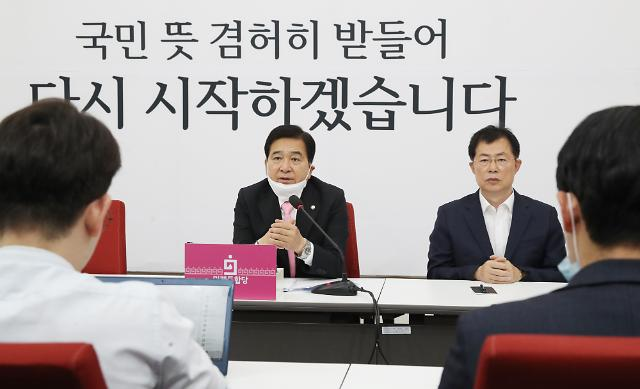 """심재철 """"현금살포로 총선 패배…포퓰리즘 극성 우려"""""""
