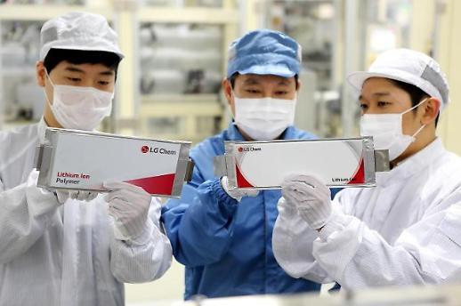 LG化学首超松下夺全球动力电池市场头名
