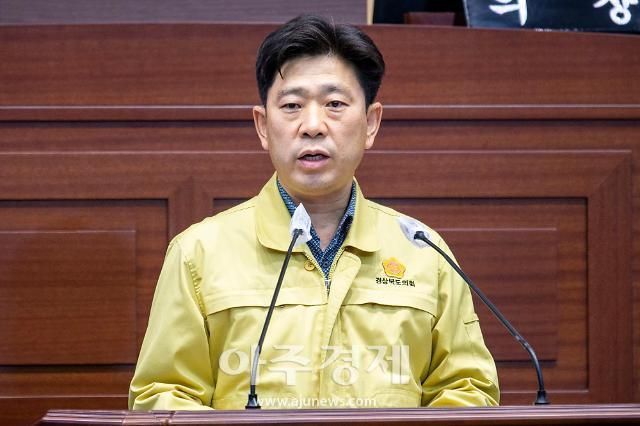 박용선 경북도의원, 도정질문에 대한 집행부 부실·맹탕 답변 질타