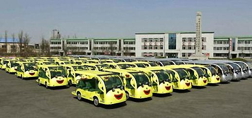 朝鲜量产电动观光车 或意在发展旅游创汇