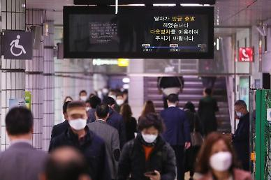 Seoul issues binding order for rush hour subway passengers to wear masks