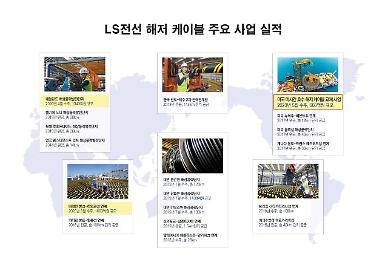 LS전선, 미국서 660억원 규모 해저 케이블 사업 수주