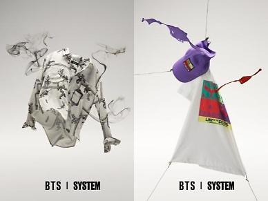 K-pop band BTS to release hit song-themed collaborated products this week