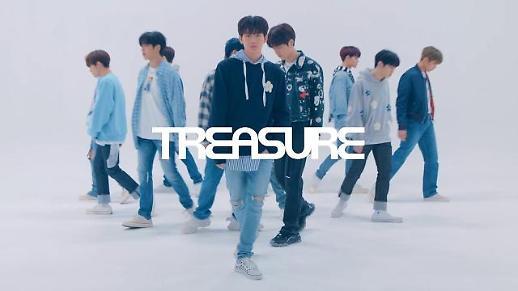 YG娱乐12人男团TREASURE将于7月正式出道