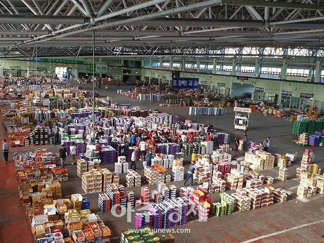 경북도, 코로나19로 힘든 농산물도매시장 종사자 지원