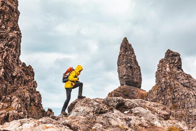韩国年轻登山客渐增 户外品牌现生机