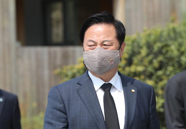 """하태경 """"김두관, 일본과 싸우는 단체는 회계부정해도 되나"""""""