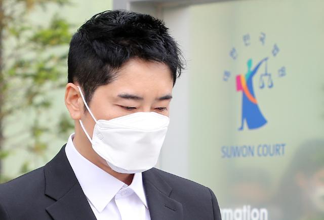 [포토] 성폭행 혐의 강지환, 항소심도 징역 3년 구형