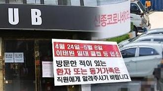 Lo ngại về ổ dịch Itaewon…Số người lây nhiễm thứ cấp có xu hướng tăng