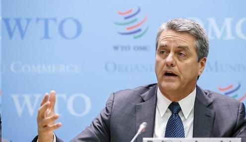 """WTO 사무총장, 중도 사임...""""8월 말 물러나겠다"""""""